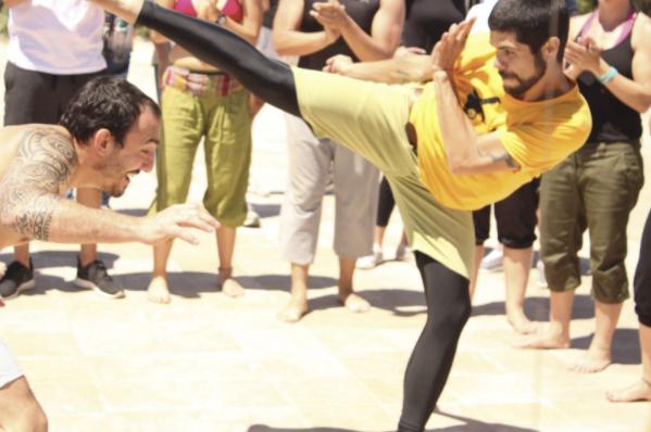 RAUL profesor danza capoeira