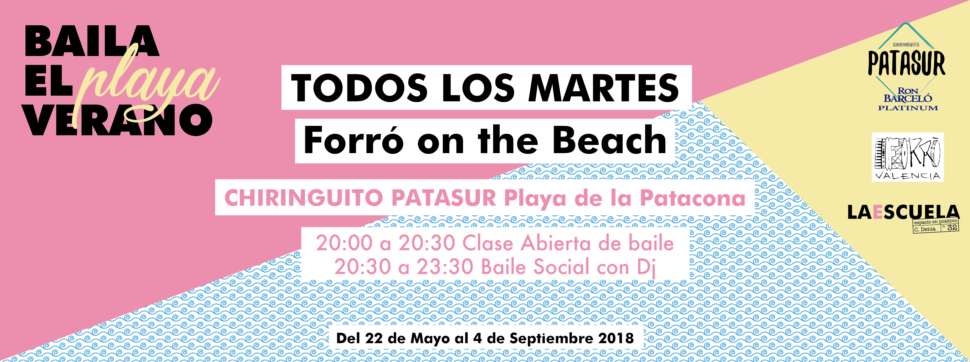 clases forro playa valencia