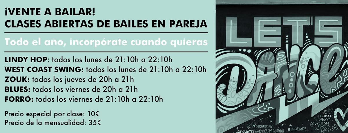clases abiertas de baile en valencia