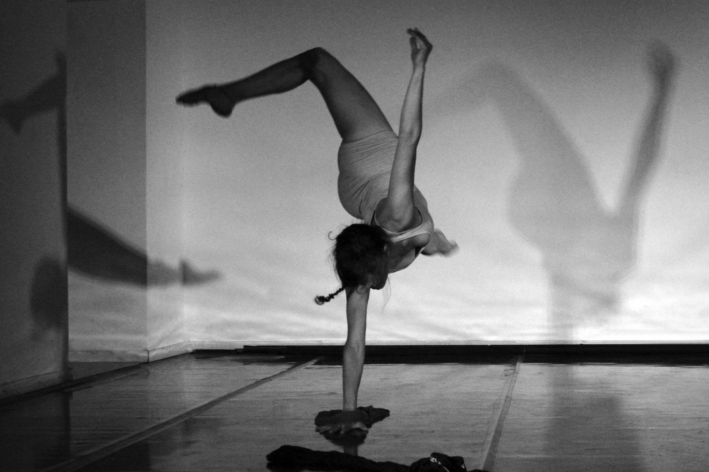 Profesora de danza contemporane